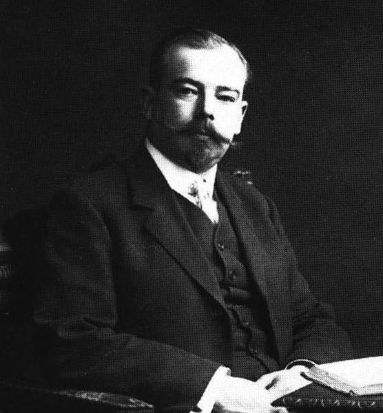 Авиаконструктор Яков Модестович Гаккель. 1910 г.
