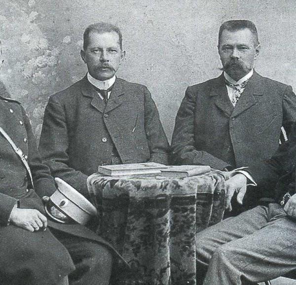 1г.Братья Меллеры (слево направо) - Константин, Юлий, Иван и Роберт.