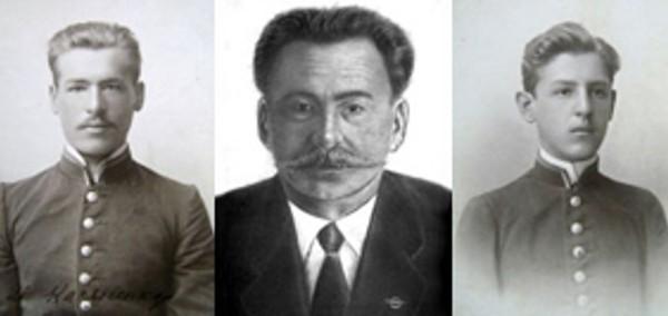1.Братья Касьяненко слева направо Андрей Иван Евгений.