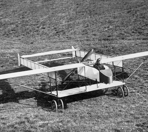 1.Самолет Би-кок на испытаниях. Авг. 1914 г.