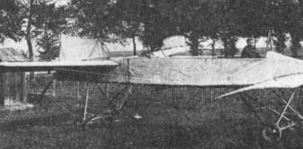 1.Самолет С.К.Джевецкого.