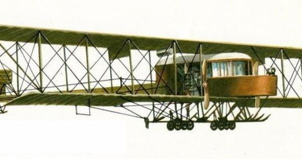 18.Первый вариант самолета Гранд. Рисунок.