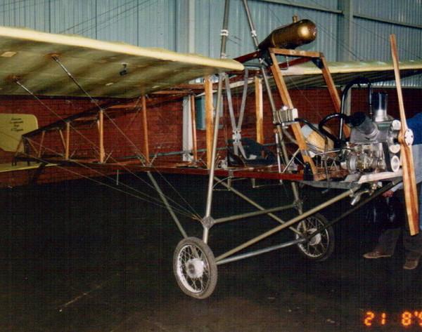 2.Реплика самолета Кудашев-3.