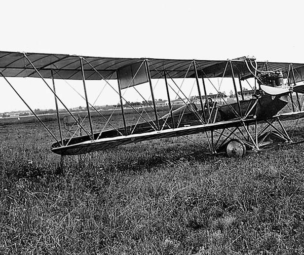 2.Самолет С-6А на Комендантском аэродроме. ЗАМЕНА