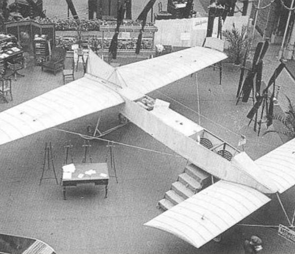 2.Самолет С.К.Джевецкого. Парижская выставка.