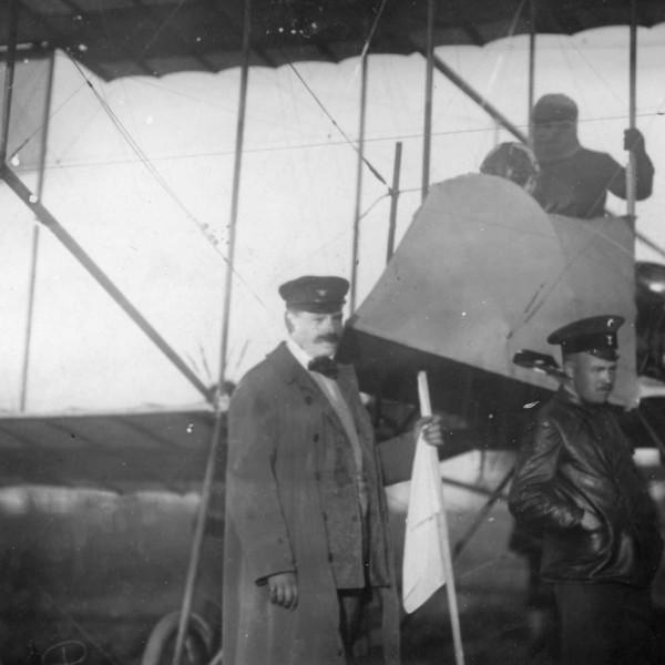2.Фарман-IV Б.С.Масленникова участника перелета С-Пб - Москва 1911 г.