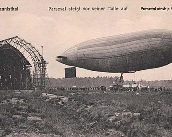 2.Дирижабль Parseval-Luftschiff PL 7