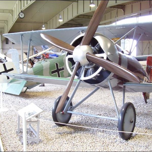 25.Истребитель Siemens-Schuckert D.IV в берлинском музее.
