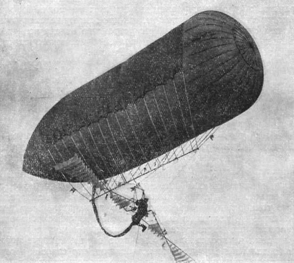 3.Летательный снаряд ЭМБРИОН в полете