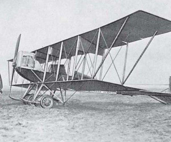 4а.Биплан С-6Б. 1912 г.