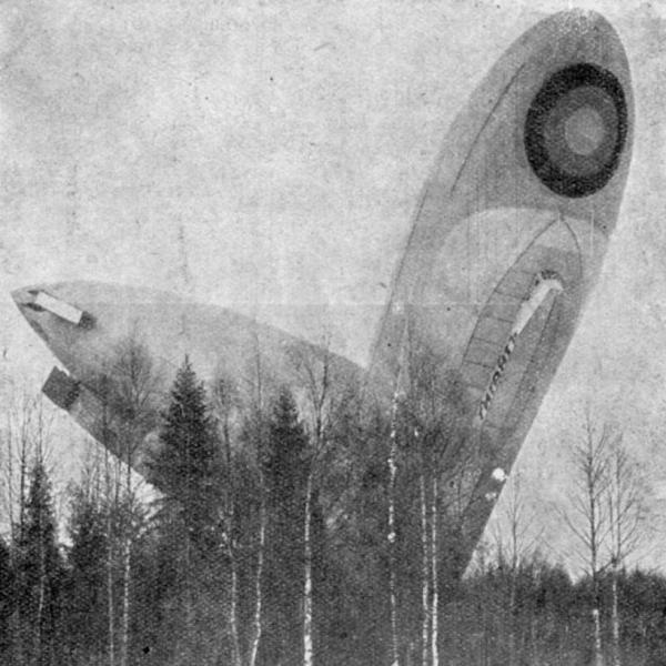 4.Дирижабль Гигант после аварии