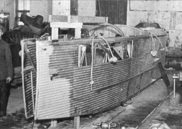 5.Модернизация гондолы от Комсомольской правды для СССР-В4.