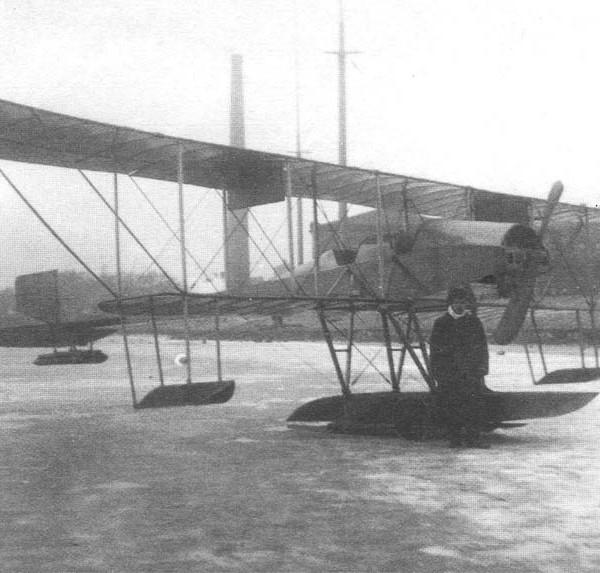 7.Однопоплавковый гидросамолет С-5А.