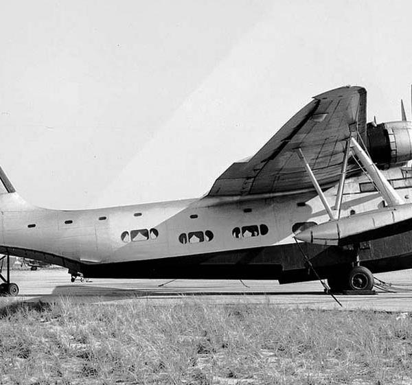 9б.Транспортная летающая лодка S-44.