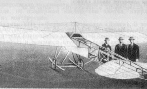 Двухместный моноплан ЛЯМ. 1912 г.