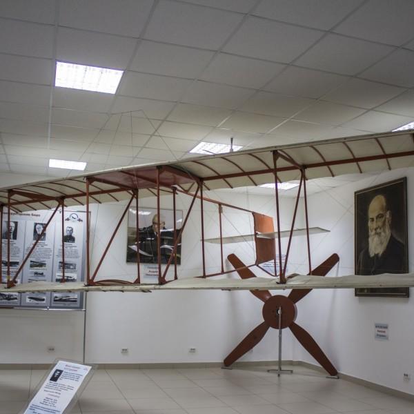 Макет планера Туполева в музее ВВС Монино.