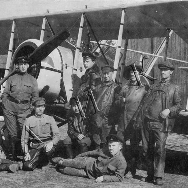 0а.Учебный самолет П-IVбис образца 1920 г.