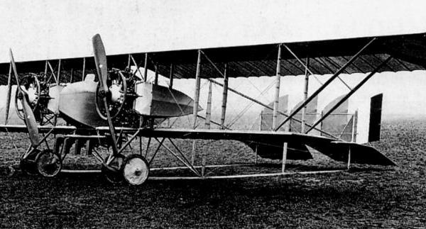 1.Caudron G.IV ВВС Франции.