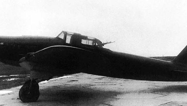 1.Двухместный Ил-2бис.