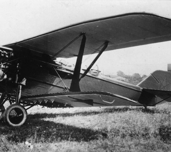 1.Головной серийный Р-3 с двигателем Liberty 12A
