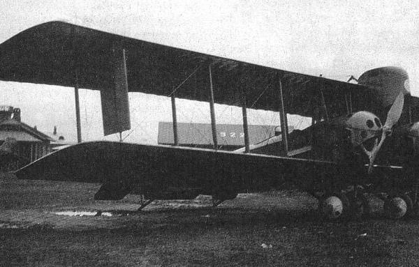 1.Хиони №4 с двигателями Gnom Monosoupape на Ходынском аэродроме.