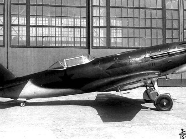 1.Истребитель И-21 № 3 Пашинина. 2