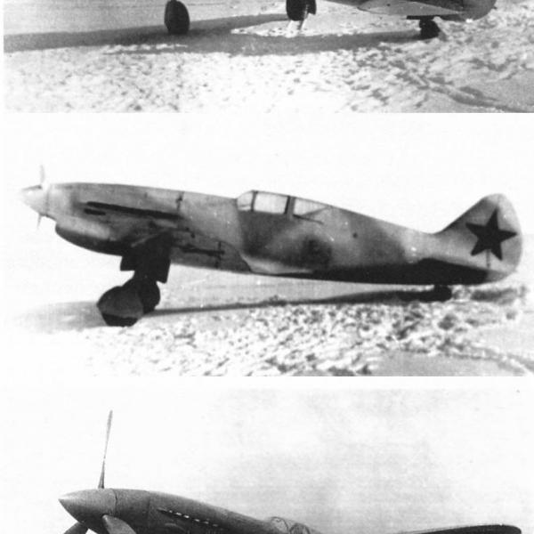 1.Истребитель ИТП М-1.