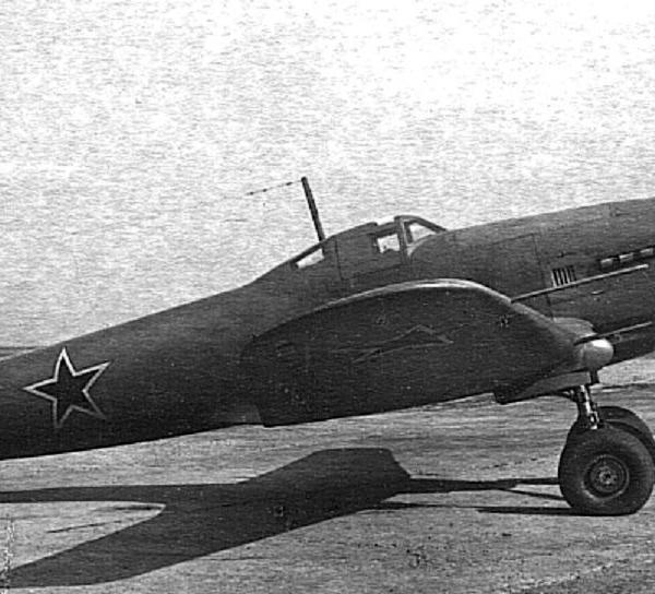 1.Истребитель Ил-1.