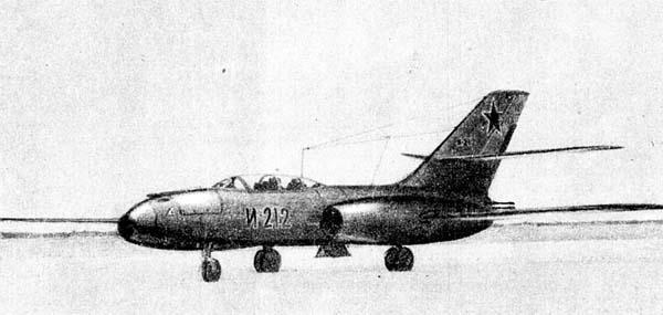 1.Истребитель-перехватчик И-212.