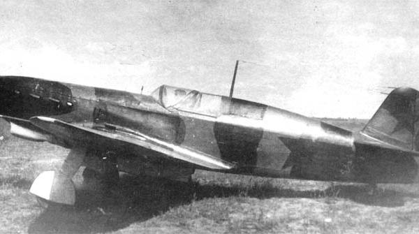 1.Истребитель-перехватчик Як-7ГК.