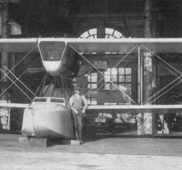 1.М-9бис перед испытаниями в июне 1923 г.