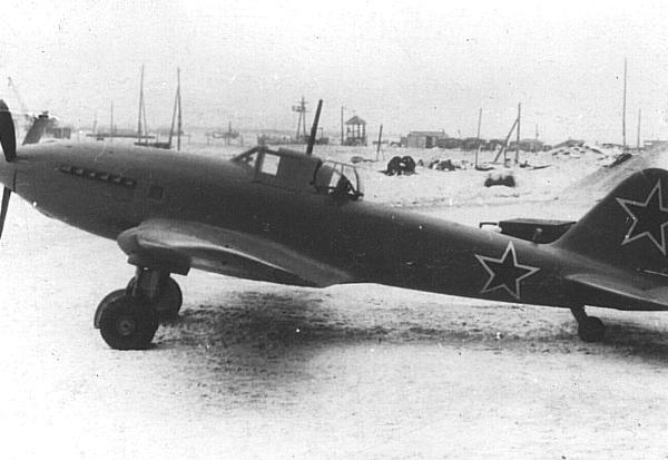 1.Опытный Ил-10. 1