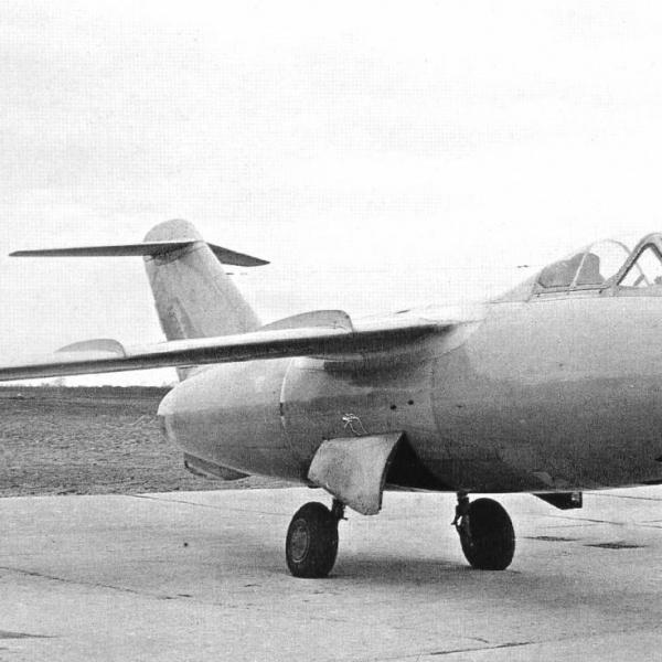 1.Опытный истребитель Ла-168.