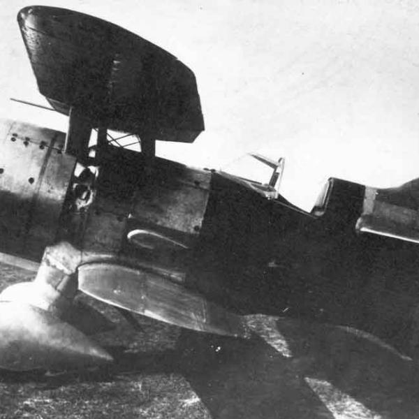 1.Опытный самолет № 7211. 2