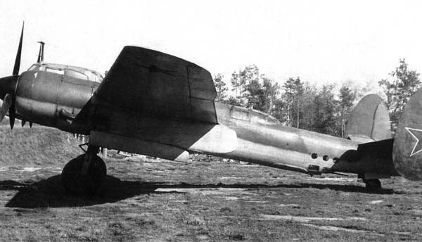 1.Первоначальный вариант Ту-2Д (62) № 718.
