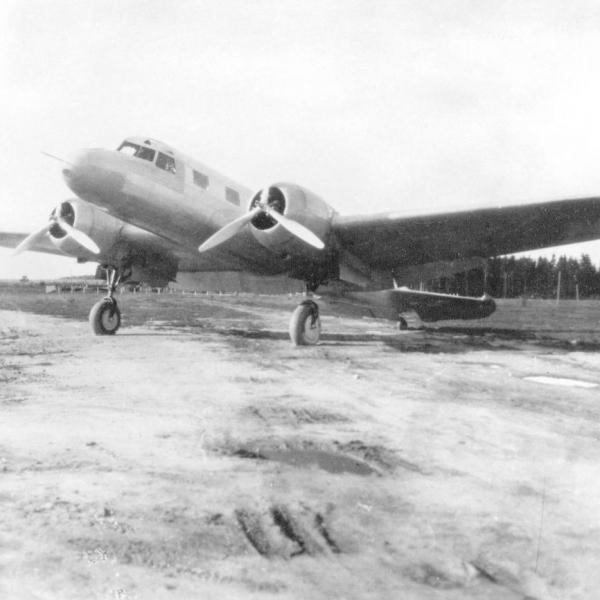 1.Первый экземпляр АНТ-35.