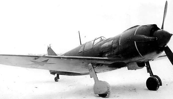 1.Первый вариант Ла-5Ф. Без изменений гаргрота.