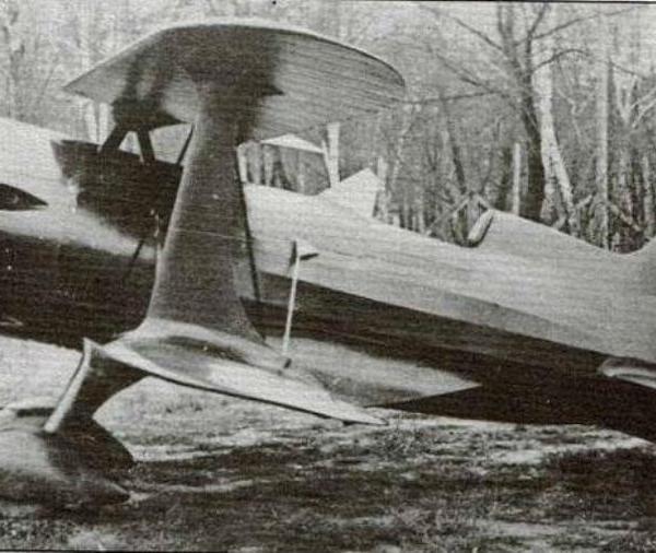 1.Пилотажный самолет НВ-6 (УТИ-6).