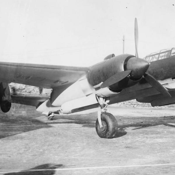 1.Прототип 103ВС на территории завода № 166 в Омске, весна 1942 г.