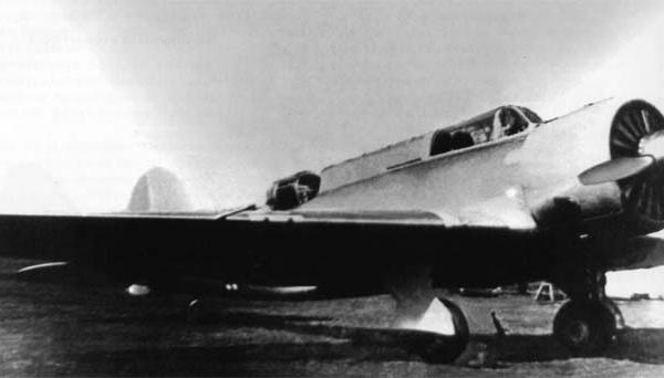 1.Штурмовик ХАИ-52.