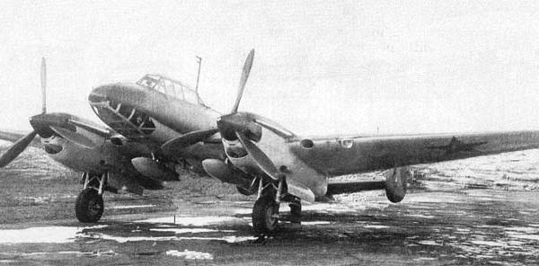 1.Тяжелый истребитель Пе-2И.