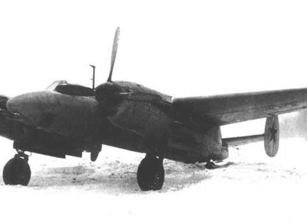 1.Тяжелый истребитель-перехватчик Ту-1.