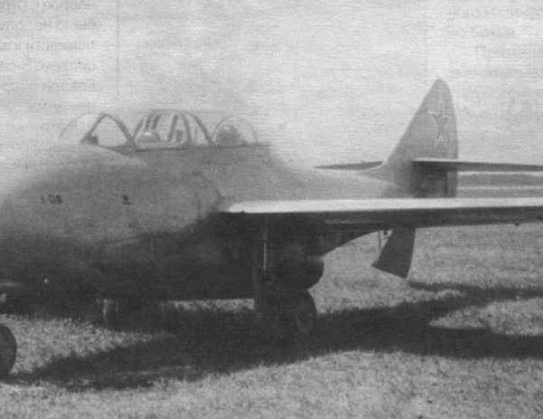 1.УТИ МиГ-9 (ТФ-1) на государственных испытаниях.