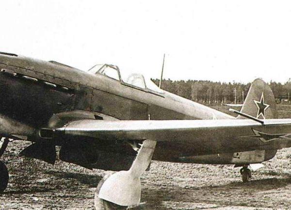 1.Як-9Д на испытаниях в НИИ ВВС