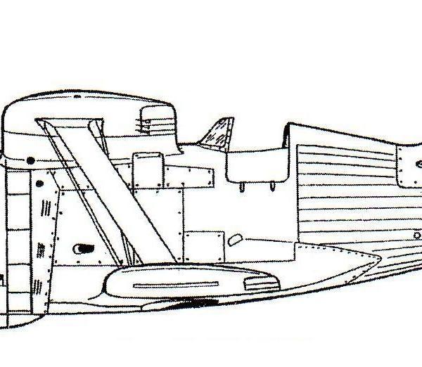 10.И-190 с двигателем М-88Р. Схема.