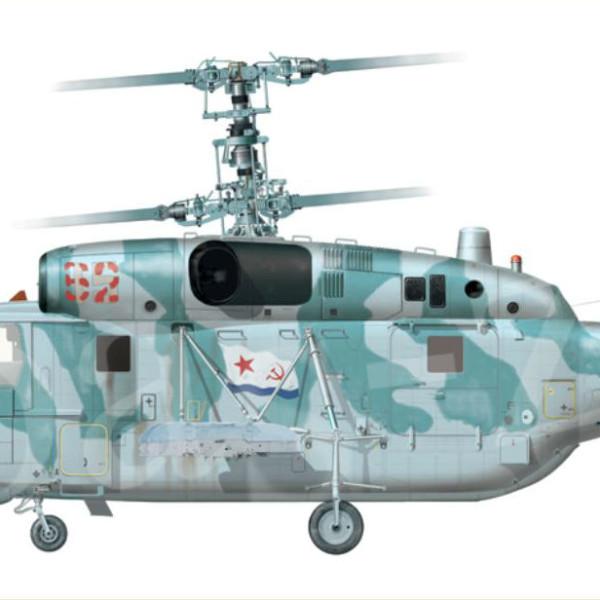 10.Ка-29 ВМФ СССР. Рисунок.
