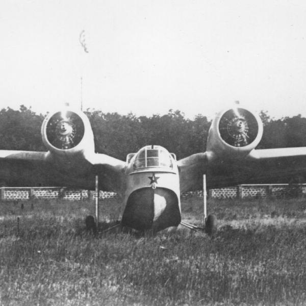 10.МДР-6А в сухопутном варианте.