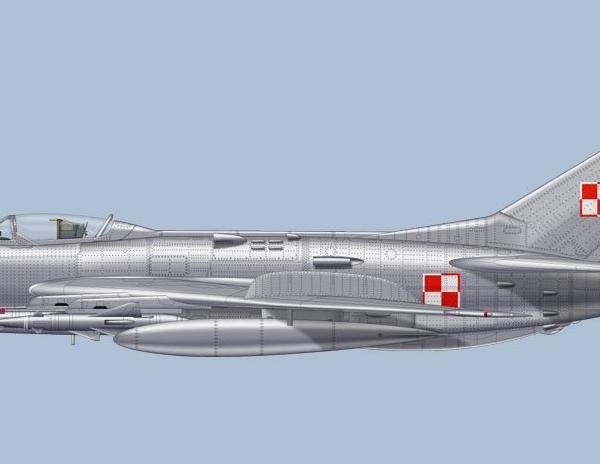 10.МиГ-19ПМ ВВС ПНР. Рисунок.