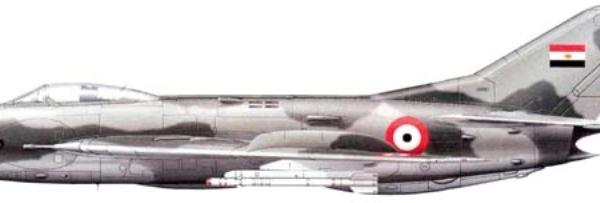 10.МиГ-19С ВВС Египта. Рисунок.