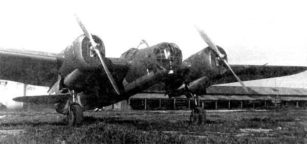 10.СБ-2М-100 ВВС республиканской Испании.